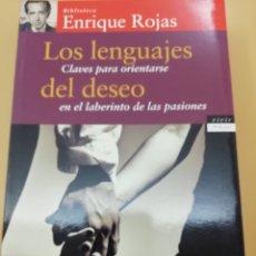 Libros de segunda mano: LOS LENGUAJES DEL DESEO, ENRIQUE ROJAS, PLANETA. Lote 176828887