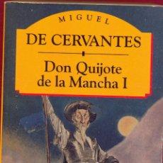 Libros de segunda mano: DON QUIJOTE DE LA MANCHA I- MIGUEL DE CERVANTES. ED.CLASICOS ESPAÑOLES PAG 573 AÑO 1994 LL3085. Lote 176886754