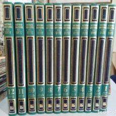 Libros de segunda mano: HISTORIA UNIVERSAL DEL ARTE - COLECCIÓN COMPLETA, 12 TOMOS - MAS IVARS EDITORES, S.L.. Lote 176957869