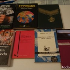 Libros de segunda mano: LOTE 7 LIBROS NARRATIVA.DELIBES.CLARKE.FAULKNER,K.NEVILLE.LION FEUCHTWANGER. ARBÓ,MOLINA FOIX. Lote 176974274