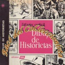 Libros de segunda mano: DIBUJO DE HISTORIETAS, DIBUJAR ES FACIL, 1965, JOSE LLOBERA, ROMAN OLTRA, FRANCISCO BAS, AFHA, 1965. Lote 176978873