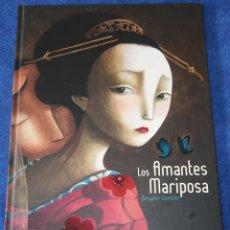 Libros de segunda mano: LOS AMANTES MARIPOSA - BENJAMIN LACOMBRE - EDELVIVES (2008). Lote 177018274