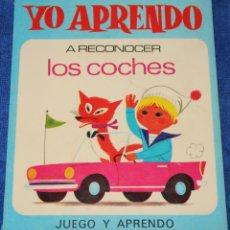 Libros de segunda mano: YO APRENDO A RECONOCER LOS COCHES - ALAIN GRÉE - EDITORIAL ARGOS (1971). Lote 177018517