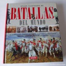 Libros de segunda mano: ATLAS ILUSTRADO DE BATALLAS DEL MUNDO - PAOLO CAU. Lote 177036622