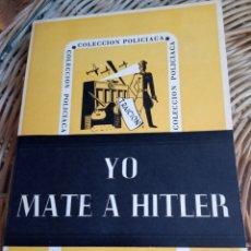 Libros de segunda mano: JEAN BOMMART.YO MATÉ A HITLER.. Lote 177049332