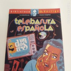 Libros de segunda mano: TELEBASURA ESPAÑOLA BIBLIOTECA DR VERTIGO FAUSTO FERNANDEZ (1998 GLENAT) 208 PAGINAS EXCELENTE ESTAD. Lote 177078539