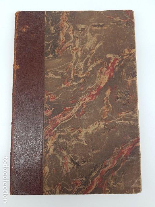 OUVRES DE MALHERBE ALBUM,PARIS 1869 ( COPIA DE CARTAS ) 6 HOJAS (Libros de Segunda Mano (posteriores a 1936) - Literatura - Otros)