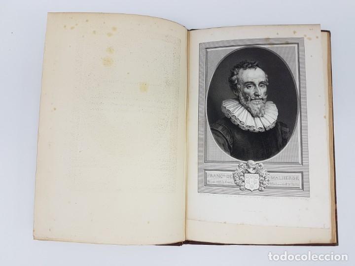 Libros de segunda mano: OUVRES DE MALHERBE ALBUM,PARIS 1869 ( COPIA DE CARTAS ) 6 HOJAS - Foto 4 - 177176770