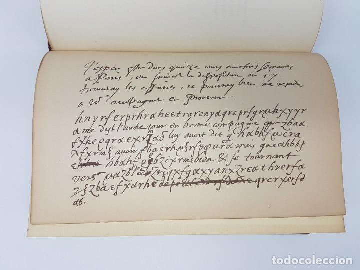 Libros de segunda mano: OUVRES DE MALHERBE ALBUM,PARIS 1869 ( COPIA DE CARTAS ) 6 HOJAS - Foto 6 - 177176770