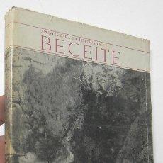 Libros de segunda mano: APUNTES PARA LA HISTORIA DE BECEITE - PEDRO TEJEDOR Y TELLO. Lote 177182069