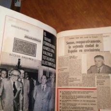 Libros de segunda mano: LIBRO GRAN FORMATO RECORTES DE PRENSA MARZO 1971 A ENERO 1978 RECORTES DE PRENSA TARRAGONA. Lote 177229902