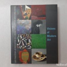 Libros de segunda mano: VISIONS OF MODERN ART: PAINTING AND SCULPTURE FROM THE MUSEUM OF MODERN ART POR JOHN ELDERFIELD (200. Lote 177249387