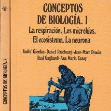 Libros de segunda mano: 0019698 CONCEPTOS DE BIOLOGIA 2 TOMOS OBRA COMPLETA. Lote 177274343