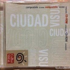 Libros de segunda mano: COMPOSTELA CD-ROM CIUDAD VISUAL. Lote 177318907