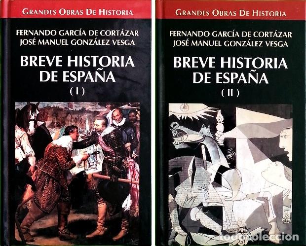 BREVE HISTORIA DE ESPAÑA - FERNANDO GARCÍA DE CORTÁZAR (Libros de Segunda Mano - Historia - Otros)