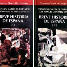 Libros de segunda mano: BREVE HISTORIA DE ESPAÑA - FERNANDO GARCÍA DE CORTÁZAR. Lote 177414967