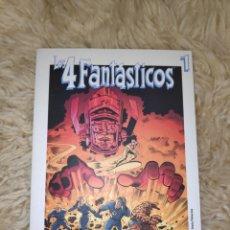 Libros de segunda mano: LOS 4 FANTÁSTICOS TOMO 1 - BIBLIOTECA DE EL MUNDO - MARVEL. Lote 177456590