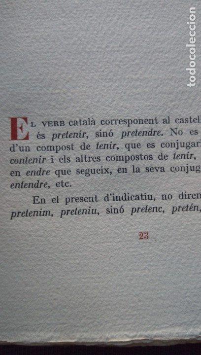 Libros de segunda mano: Converses filologiques Pompeu Fabra París 1946 - Foto 10 - 177474894