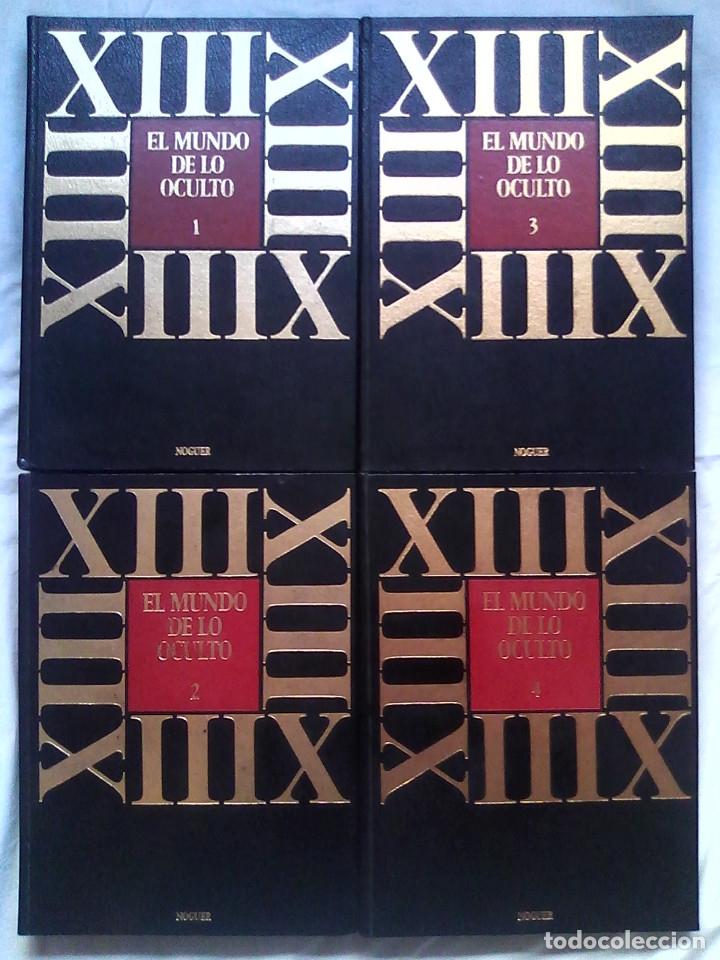 Libros de segunda mano: El mundo de lo oculto (Noguer, 1976). Rara y difícil edición en 4 volúmenes / PARAPSICOLOGÍA - Foto 2 - 177479665