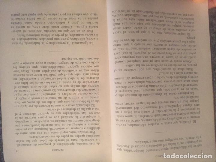 Libros de segunda mano: Recetario del automovilista - Foto 5 - 177490353