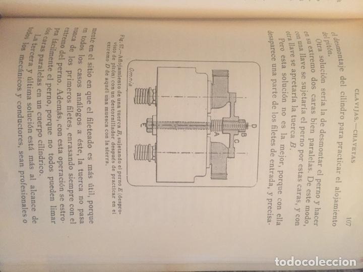 Libros de segunda mano: Recetario del automovilista - Foto 7 - 177490353