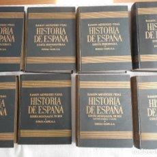 Libros de segunda mano: HISTORIA DE ESPAÑA. RAMON MENENDEZ PIDAL. ESPASA-CALPE, AÑOS 40/50. TAPA DURA. GRAN FORMATO. ILUSTRA. Lote 177491383