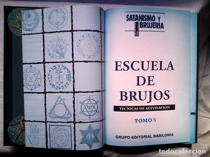 Libros de segunda mano: Satanismo y brujería: Gran enciclopedia de las ciencias metafísicas (Editorial Babilonia, 1992) - Foto 24 - 177432227