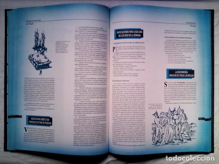 Libros de segunda mano: Satanismo y brujería: Gran enciclopedia de las ciencias metafísicas (Editorial Babilonia, 1992) - Foto 27 - 177432227