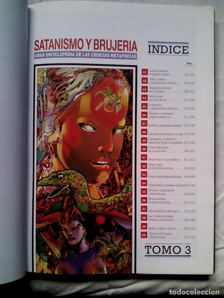 Libros de segunda mano: Satanismo y brujería: Gran enciclopedia de las ciencias metafísicas (Editorial Babilonia, 1992) - Foto 8 - 177432227