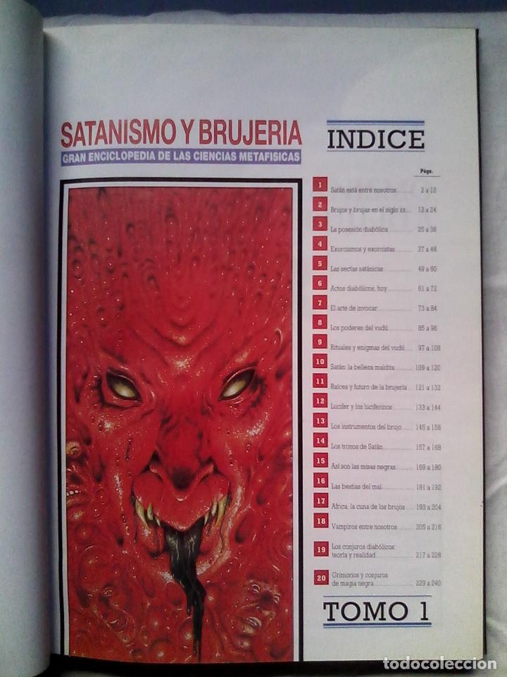 Libros de segunda mano: Satanismo y brujería: Gran enciclopedia de las ciencias metafísicas (Editorial Babilonia, 1992) - Foto 7 - 177432227