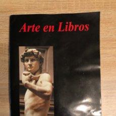 Libros de segunda mano: ARTE EN LIBROS. HURTADO EDICIONES. PAGINAS: 85. MEDIDAS APROX.: 30 X 21 CM. . Lote 177518480
