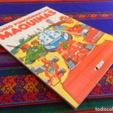 Libros de segunda mano: CÓMO FUNCIONAN LAS MÁQUINAS. CLIPER PLAZA & JANÉS. 1981. RÚSTICA. BUEN ESTADO.. Lote 177549752