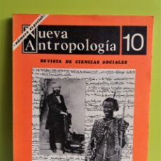 Libros de segunda mano: NUEVA ANTROPOLOGÍA 10,1979 - INTRODUCCIÓN NOTAS ETNOLÓGICAS DE KARL MARX - LAWRENCE KRADER. Lote 177579563