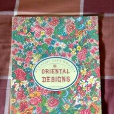 Libros de segunda mano: CLASSIC GIFT WRAPS ORIENTAL DESIGNS. Lote 177582394
