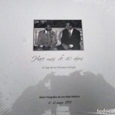 Libros de segunda mano: EXPOSICIÓN HACE MÁS DE 40 AÑOS. EL VIAJE DE LOS PRÍNCIPES A ETIOPÍA NUEVO . Lote 177592827
