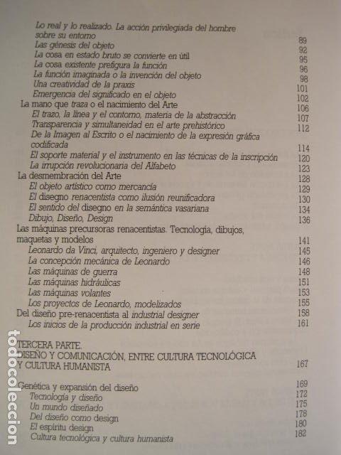 Libros de segunda mano: DISEÑO, COMUNICACIÓN Y CULTURA. JOAN COSTA. PREMIO FUNDESCO DE ENSAYO. COLECCIÓN IMPACTOS. 1994. - Foto 7 - 177612168