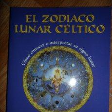 Libros de segunda mano: EL ZODIACO LUNAR CÉLTICO, HELENA PATERSON, ILUSTRADO, ED. EDAF. Lote 269777328