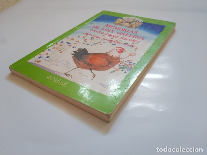 Libros de segunda mano: MEMORIAS DE UNA GALLINA.- CONCHA LOPEZ NARVAEZ - Foto 2 - 177652414