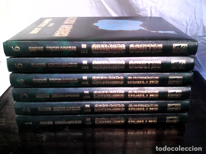Libros de segunda mano: Nueva enciclopedia de las ciencias ocultas (6 vol., completa) - José María Kaydeda / PARAPSICOLOGÍA - Foto 2 - 177414397