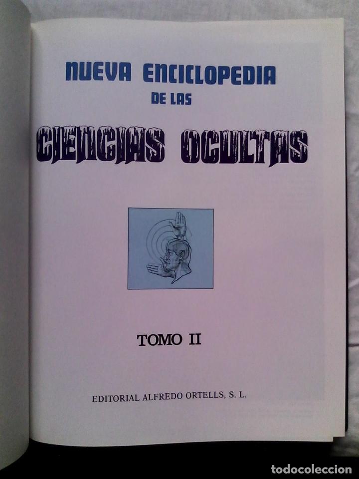 Libros de segunda mano: Nueva enciclopedia de las ciencias ocultas (6 vol., completa) - José María Kaydeda / PARAPSICOLOGÍA - Foto 4 - 177414397
