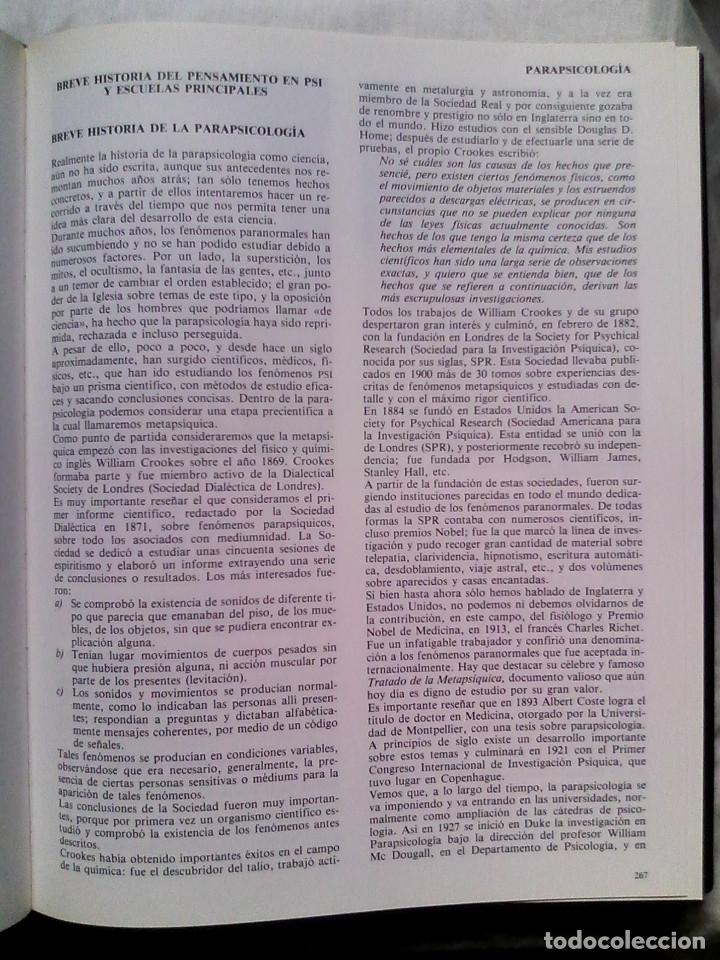 Libros de segunda mano: Nueva enciclopedia de las ciencias ocultas (6 vol., completa) - José María Kaydeda / PARAPSICOLOGÍA - Foto 6 - 177414397