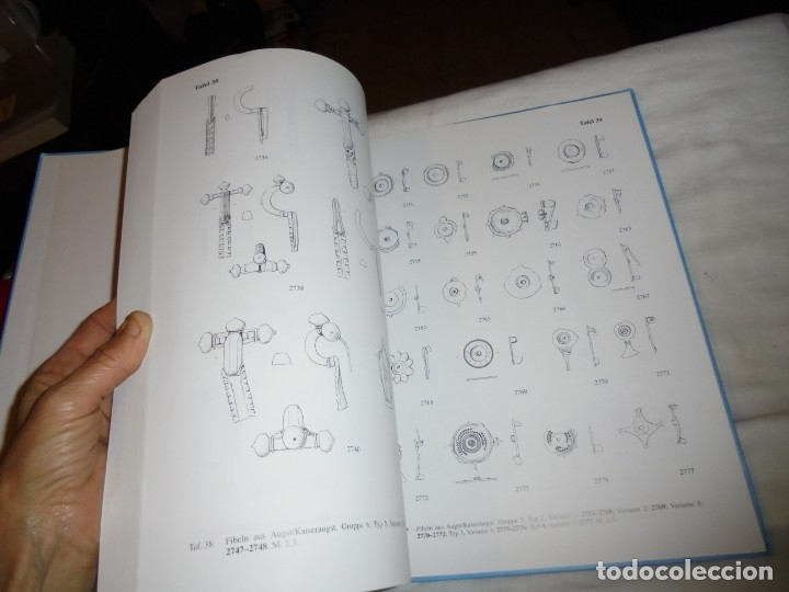 Libros de segunda mano: DIE ROMISCHEN FIBELN AUS AUGST UND KAISERAUGST.(LAS FIBLAS RUMAS DE OJO Y EMPERADOR).EMILIE RIHA.199 - Foto 6 - 177749208