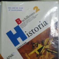 Libros de segunda mano: LIBRO DE TEXTO DE 2º BACHILLERATO. HISTORIA. EDITORIAL ANAYA. 399 PAGINAS. Lote 177765430