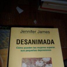 Libros de segunda mano: DESANIMADA, JENNIFER JAMES, ED. GRIJALBO. Lote 177779647