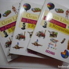 Libros de segunda mano: VV.AA GRAN LIBRO DE PREGUNTAS Y RESPUESTAS Y96219. Lote 177788088