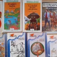 Libros de segunda mano: LOTE ALA DELTA ALGUARA LITERATURA INFANTIL Y JUVENIL. Lote 177796493