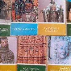 Libros de segunda mano: LOTE LIBRETOS MÁS DIAPOSITIVAS - MINISTERIO EDUCACIÓN - COMPOSTELA SALAMANCA SALZILLO ALONSO CANO. Lote 177796852