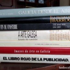 Libros de segunda mano: LOTE DE 7 LIBROS. FORMATO GRANDE.. Lote 177821495