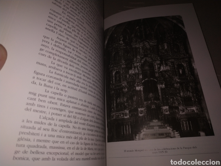 Libros de segunda mano: El retaule barroc de Joan Mompeó a Terrassa. Salvador Alavedra. 1995. - Foto 6 - 177842749