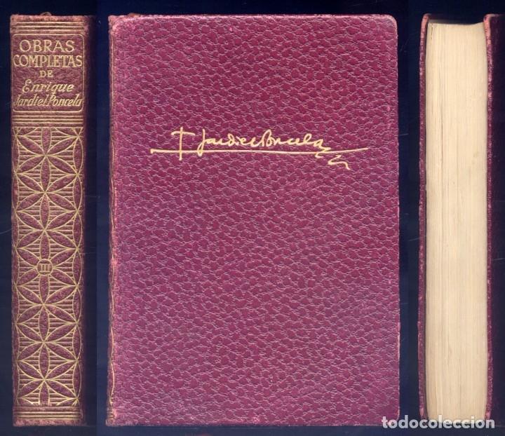 JARDIEL PONCELA, E. OBRAS COMPLETAS. III: EL LIBRO DEL CONVALECIENTE; EXCESO DE EQUIPAJE... 1960. (Libros de Segunda Mano (posteriores a 1936) - Literatura - Otros)